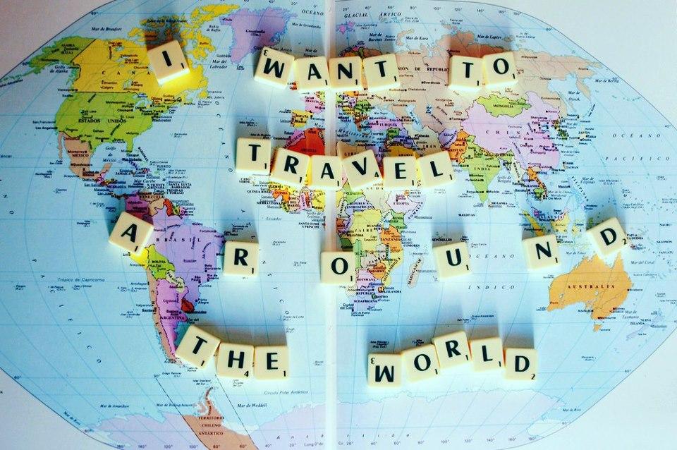 rejse verden rundt