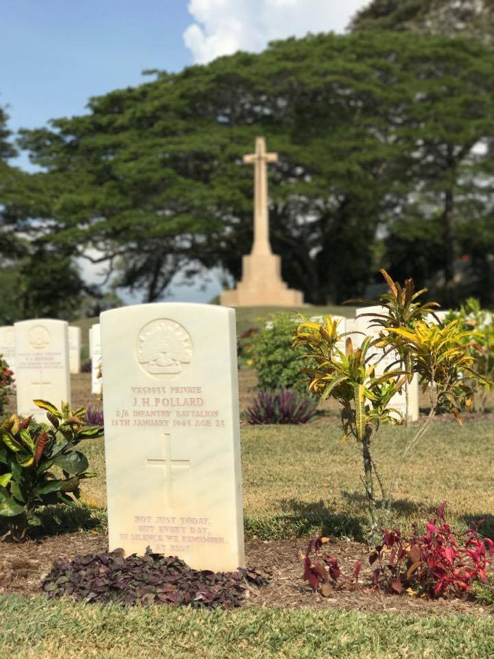 Port Moresby Adventure Park, Papua New Guinea: Visiting the Port Moresby Adventure Park and War Cemetery